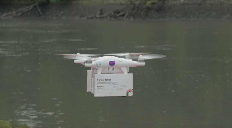 Abortion Pill Drone