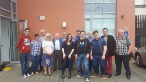 Really good turnout of young people and trade unionists at the meeting this afternoon to officially launch the campaign.
