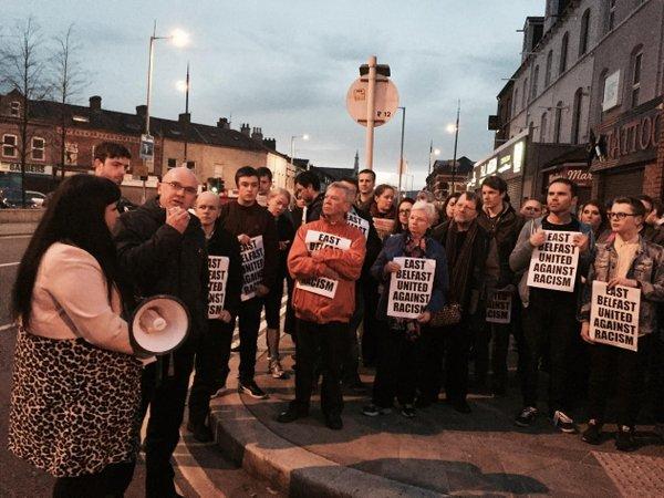 Oppose Racist Attacks: Courtney Robinson
