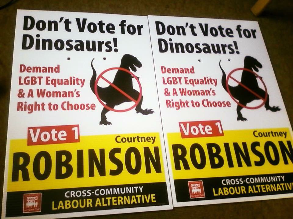 Don't Vote for Dinosaurs!